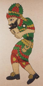 Shadow Puppet Hacivat